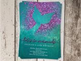 Mermaid Party Invitation Template Printable Mermaid Invitation Template Mermaid Birthday