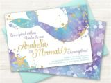 Mermaid themed Party Invitations 10 Mermaid Party Ideas for A Teal Purple Gold Bash