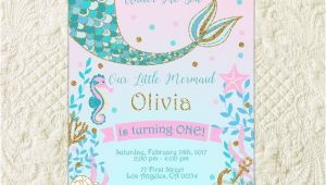 Mermaid themed Party Invitations Best 25 Mermaid Invitations Ideas On Pinterest Mermaid