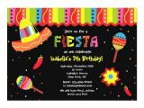Mexican Party Invitation Template Mexican Fiesta Birthday Party Invitations Zazzle Com