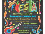 Mexican Party Invitation Template Mexican Fiesta Party Invitation On Blackboard Zazzle