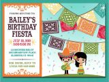 Mexican Party Invitation Template Print Yourself Kid 39 S Mexican Fiesta Invitation by