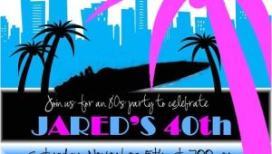 Miami themed Party Invitations 68 Best Images About Miami Vice Party On Pinterest 80s