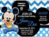 Mickey Mouse Baby Shower Invitations for A Boy 17 Best Images About Baby Shower Mickey On Pinterest