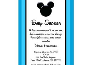 Mickey Mouse Baby Shower Invitations for A Boy Mickey Mouse Inspired Baby Shower by Egyptianfrogdesigns