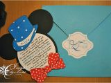 Mickey Mouse Baptism Invitations Mickey Mouse Baptism Invitation Invitatie Pentru Botez Cu