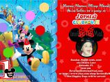 Mickey Mouse Clubhouse Custom Birthday Invitations Mickey Mouse 1st Birthday Invitations