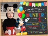 Mickey Mouse Party Invitation Template Mickey Mouse Clubhouse Invitations for Special Birthday