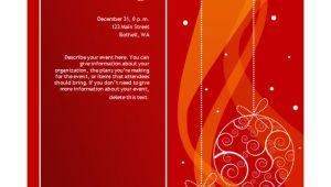 Microsoft Word Holiday Party Invitation Template 50 Microsoft Invitation Templates Free Samples