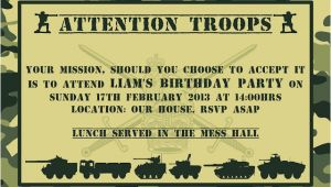 Military themed Party Invitations Bringing It All together Army themed Party the Purple
