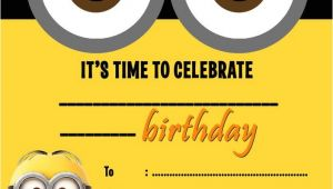 Minion Party Invitations Uk Despicable Me Minions Party Invitations Kids Children 39 S