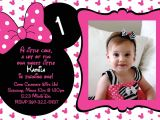 Minnie and Mickey Mouse Party Invitations Minnie Mouse Birthday Invitations Minnie Mouse Birthday