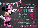 Minnie Mouse 2nd Birthday Invitations Template 25 Best Ideas About Minnie Mouse Invitation On Pinterest