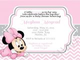 Minnie Mouse Baby Shower Invitation Baby Minnie Mouse Baby Shower Invitations – Gangcraft