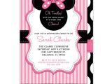 Minnie Mouse Baby Shower Invitation Baby Shower Invitations Minnie Mouse