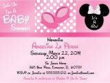 Minnie Mouse Baby Shower Invitations Walmart Minnie Mouse Baby Shower Invitations at Walmart Mous