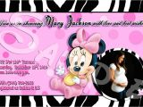 Minnie Mouse Baby Shower Invitations Walmart Minnie Mouse Baby Shower Invitations