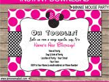Minnie Mouse Birthday Invitation Template Free Download Minnie Mouse Party Invitations Template Birthday Party