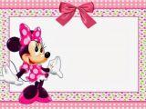 Minnie Mouse Birthday Invitation Templates Free Minnie Mouse Free Printable Invitation Templates