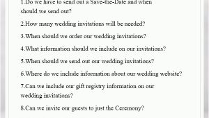 Miss Manners Wedding Invitations Wedding Invitation Etiquette You Can Not Miss by Elegant