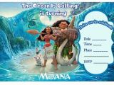 Moana Birthday Invitation Template 17 Best Images About Birthday Party Invitations Free