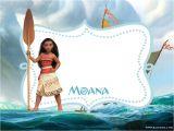 Moana Birthday Invitation Template Free Printable Moana Invitation Template Bagvania Free