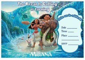 Moana Birthday Party Invitation Template 17 Best Images About Birthday Party Invitations Free
