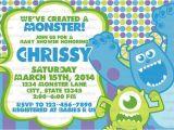Monster Inc Baby Shower Invites Monster Inc Baby Shower Invitations