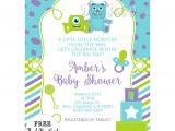 Monster Inc Baby Shower Invites Monsters Inc Baby Shower Invitations