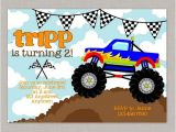 Monster Truck Party Invitations Free Monster Truck Invitation Monster Truck Birthday Monster