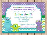 Monsters Inc Baby Shower Invites Kitchen & Dining