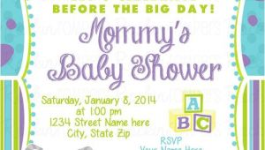 Monsters Inc Baby Shower Invites Monsters Inc Baby Shower Invitation by Rockinrompers On