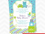 Monsters Inc Baby Shower Invites Monsters Inc Baby Shower Invitations by Dpdesigns2012 On Etsy