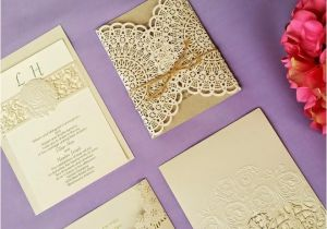 Most Beautiful Wedding Invitation Cards Lace Wedding Invitations A Fit for Every theme Bell with