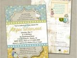 Mother Goose Baby Shower Invitations Nursery Rhyme Invitation Baby Shower Vintage by