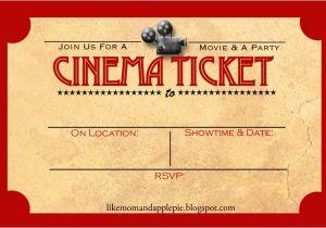 Movie Party Invitations Free Printable Favorite Movie Night Party Ideas Decor to Adore