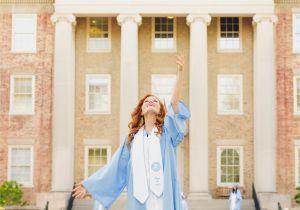 Mtsu Graduation Invitations Unc Chapel Hill Graduation Amelia M Photography Go