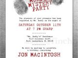 Murder Mystery Birthday Party Invitations Clue Birthday Invitation Murder Mystery Party Customizable