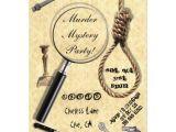 Murder Mystery Birthday Party Invitations Murder Mystery Party Invitations Zazzle Com