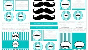 Mustache Birthday Party Printables 8 Best Of Mustache Party Free Printables Mustache