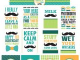 Mustache Birthday Party Printables Little Man Mustache Bash First Birthday Party Free