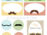 Mustache Birthday Party Printables Moustache Party Printables