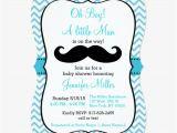 Mustache Invitations for Baby Shower Mustache Baby Shower Invitations – Gangcraft