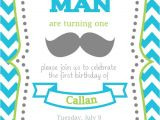 Mustache Invitations for First Birthday Items Similar to Mustache Bash First Birthday Invitation
