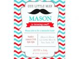 Mustache Invitations for First Birthday Mustache Little Man Birthday Party Invitations