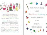 My Favorite Things Party Invitation Wording Custom Birthday Party Invitation Favorite Things Party