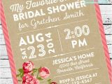 My Favorite Things Party Invitation Wording My Favorite Things Bridal Shower Invitation