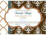 My Favorite Things Party Invitation Wording Real Livin with Hsb Favorite Things Party