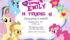 My Little Pony Printable Birthday Invitations Free Printable My Little Pony Birthday Invitations