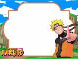 Naruto Birthday Invitation Template Free Printable Naruto Birthday Invitation Free